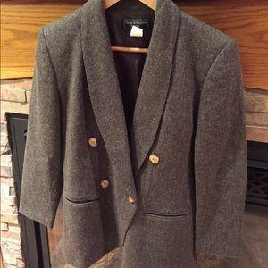 Norton McNaughton petites 100% wool blazer